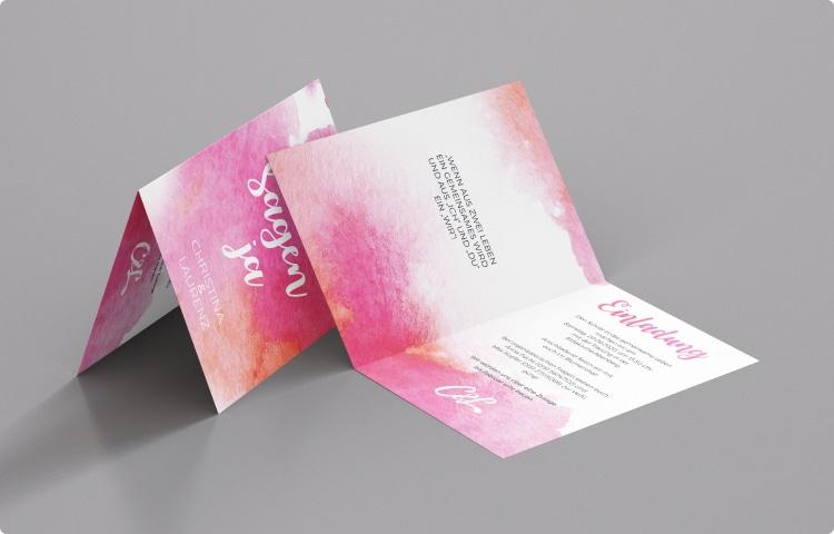 Individuelle Einladungskarten